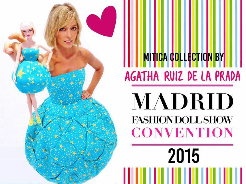 AGATHA RUIZ DE LA PRADA at MFDS 2015 | Official Barbie Club´s ...